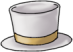 White Top Hat