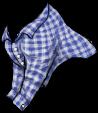 Blue Plaid Long Sleeve Shirt