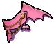Pink Bat Cape