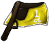 Yellow Racing Saddle