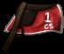 Red Racing Saddle