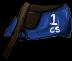 Blue Racing Saddle