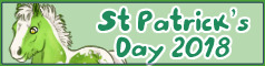 St. Patrick's day, click to adopt!