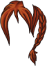 Allegiance Wig Orange