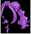 Curly Violet Wig