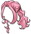 Curly Pink Wig