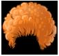 Style Wig Orange