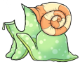 Green Snail Costume