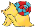 Yellow Snail Costume