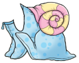 Blue Snail Costume