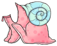 Pink Snail Costume