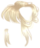 Blonde Messy Bun Wig